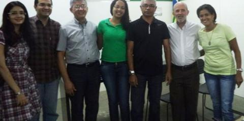 Superintendência de Meio Ambiente de Corrente participa de treinameno promovido pela SEMAR