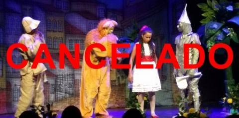 ATENÇÃO! Apresentação da peça teatral O Mágico de Oz foi cancelada