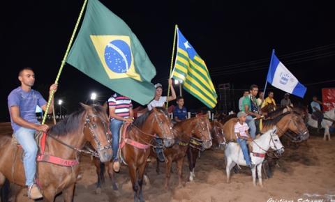 Prefeita Anna Cecília comemora o sucesso da Vaquejada de Parnaguá