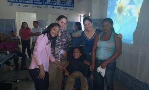 Parnaguá realiza entrega de próteses do CEIR móvel à população