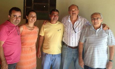 Fernando Monteiro recebe apoio de Jesualdo Cavalcante em Corrente