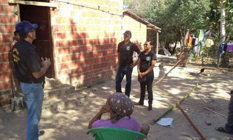 Superintendência de Meio Ambiente fiscaliza denúncias no Morro Redondo