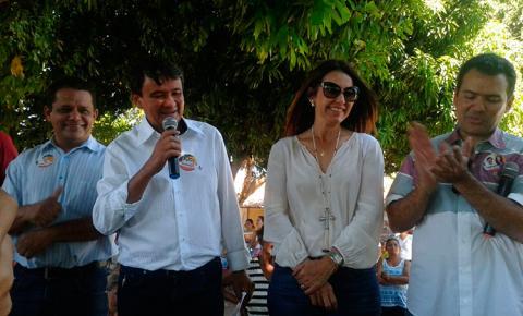 Candidato Wellington Dias cumpre agenda de campanha em Corrente nesta quarta