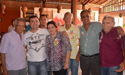 Candidato Fábio Novo visitou o município de Corrente neste domingo