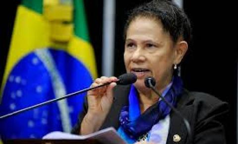 Senadora Regina Sousa, confirma presença na Expocorrente na noite de hoje.