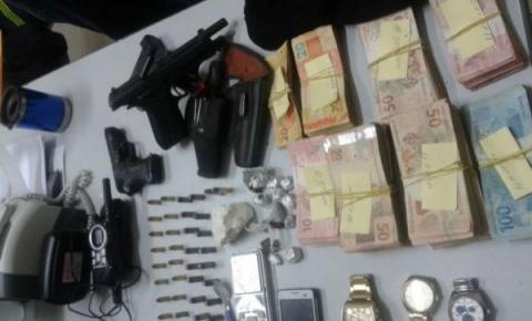 7º BPM de Corrente participa de operação que prendeu quadrilha de assalto a bancos