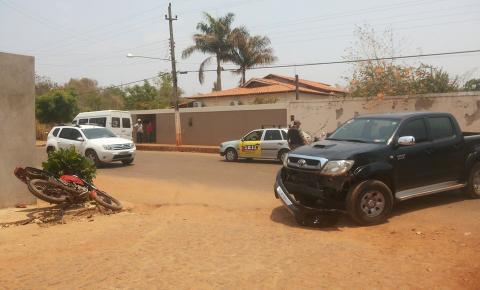 Acidente de trânsito envolve dois veículos conduzidos por menores em Corrente