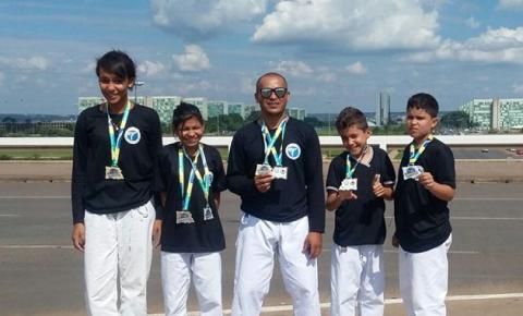 Karatecas de Corrente participam de Campeonato Brasileiro e ganham 9 medalhas