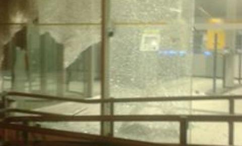 Agência do Banco do Brasil de Santa Rita de Cássia é assaltado nesta madrugada