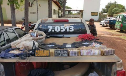 CIPE Cerrado confronta bando que assaltou bancos em Santa Rita