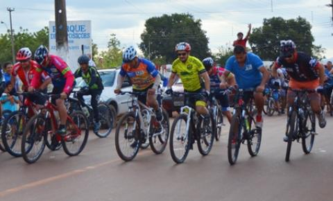 Com mais de 50 inscritos, aconteceu neste domingo a 1ª Trilha de Mountain Bike de Corrente