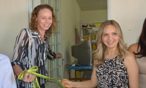 APAE de Corrente inaugura sala de atendimento especializado, construída com ajuda do Bazar da Solidariedade