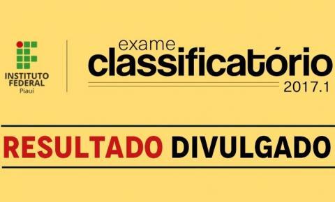IFPI publica resultado do Exame Classificatório para cursos técnicos
