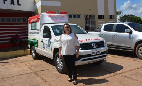 Hospital Regional de Corrente recebe nova ambulância da governadora Margarete Coelho