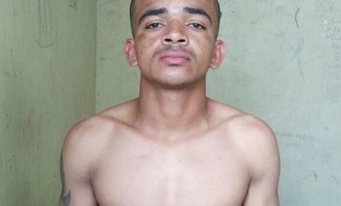 Homem é preso pela Polícia Militar em Parnaguá por tentativa de homicídio
