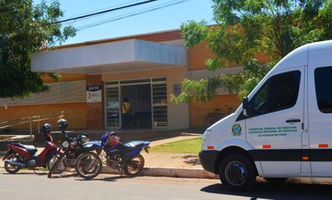 CRM realiza vistoria no Hospital Regional de Corrente