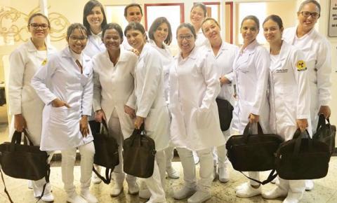 Técnicas em mamografia do Piauí participam de curso profissionalizante no Hospital do Câncer de Barretos