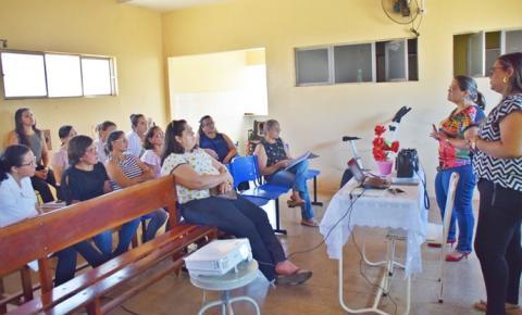 Técnicos e enfermeiros do Hospital Regional de Corrente participam capacitação