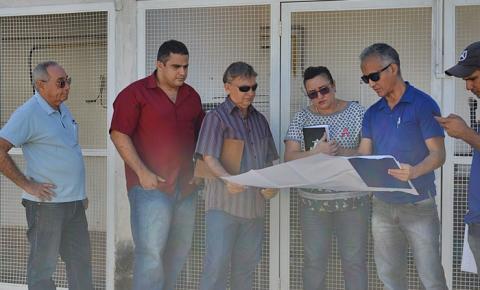 Equipe de engenharia da SESAPI vistoria o Hospital Regional de Corrente
