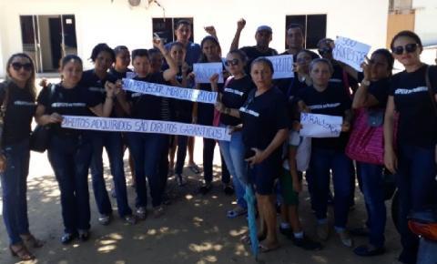 Professores da rede municipal de Parnaguá realizam paralisação