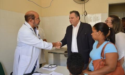 1º Mutirão de Cirurgias Eletivas têm início no Hospital de Corrente com a presença do secretário Florentino Neto