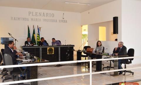 Câmara de vereadores de Corrente aprova veto do prefeito às próprias emendas