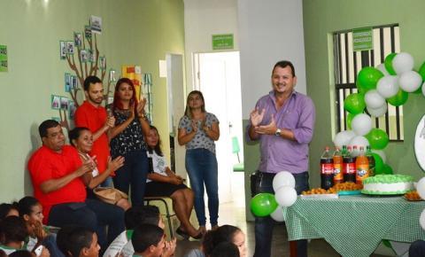 Escola Antônio Rocha comemora 34 anos de fundação