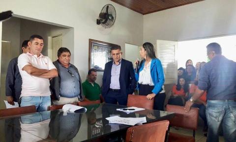 Prefeitura de Curimatá realiza audiência pública com poderes e população