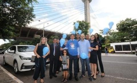 Governador participa da Caminhada pela Conscientização do Autismo