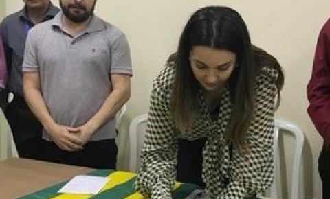 Vice-governadora assina Ordem de Serviço para construção de Centro Cultural em Picos