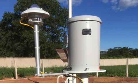IFPI Corrente instala Estação Meteorológica do Instituto Nacional de Meteorologia