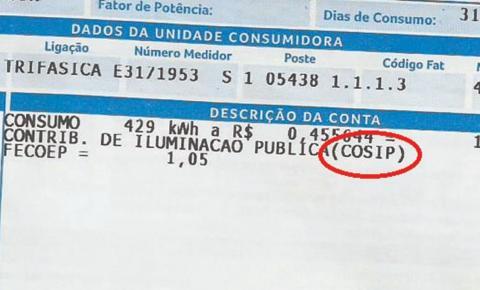 Vereadores de Corrente aprovam requerimento solicitando informações sobre a Cosip