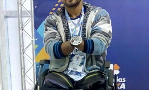 Paratleta Marcos Jeane conquista medalhas no Circuito Brasil Loterias Caixa
