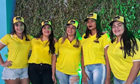 Comitiva do Santana Parque Show marca presença na vaquejada de Parnaguá