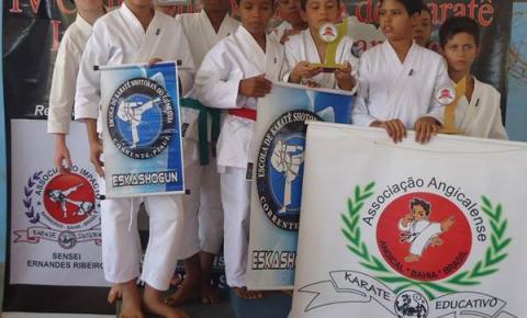Karatecas de Corrente tem ótimo desempenho no Campeonato Baiano