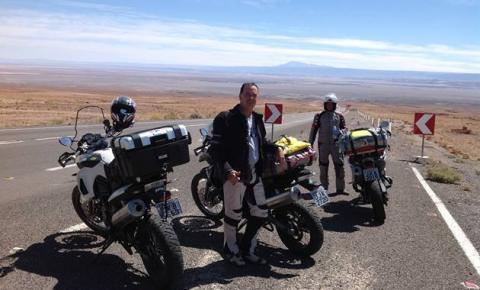 Correntino participa da Expedição Sertão Conesul, que rodará 20 mil km de moto