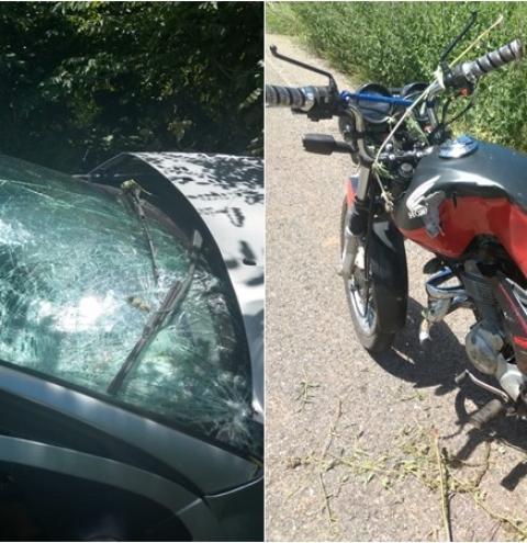 Motociclista morre em grave acidente na PI 415 em Sebastião Barros. Suspeito evadiu-se sem prestar socorro.