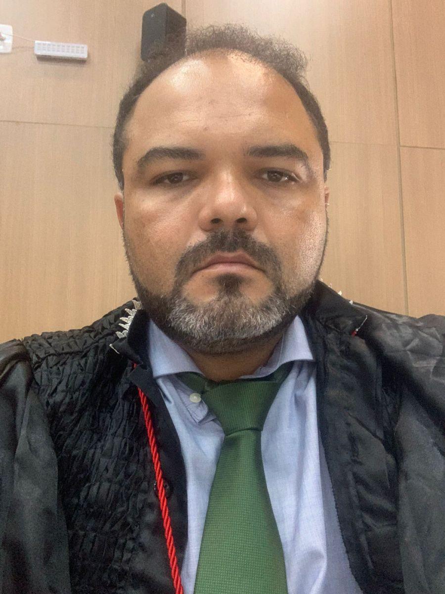 Rômulo Cordão, Promotor de Justiça (foto: arquivo pessoal)