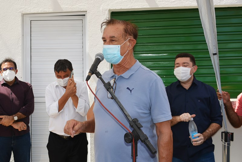 Coronel Antonio Carvalho, representando a Prefeitura de Curimatá