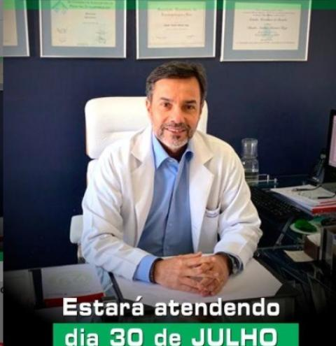 Dr. Claudio Máximo Guerra atenderá no Hospital Regional de Corrente nesta sexta