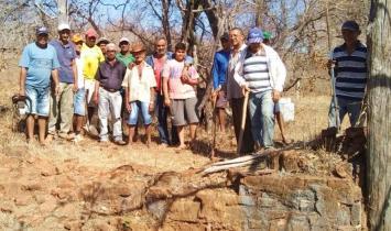 Historiador Edilson de Araújo Nogueira inicia escavação de capela de mais de 300 anos em Corrente