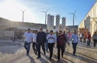 Wellington destaca impacto da instalação de fábrica de torres eólicas para desenvolvimento do estado