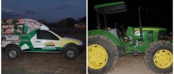 Prefeitura de Monte Alegre entrega ambulância e trator para a comunidade
