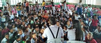 Estudantes da rede municipal de São Gonçalo do Gurgueia participam do projeto Baú Itinerante