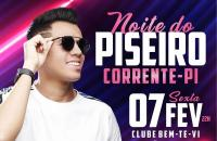 Victor Fernandes, 7 de fevereiro, no Clube Bem-Te-Vi em Corrente!