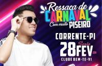 Tá chegando!!! Vem aí o Rei do Piseiro, Vitor Fernandes, nessa sexta em Corrente!!