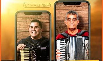 Hoje tem live do Lucas & Forró Esticado e Raimundo Tangé