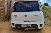 Veículo com restrição de roubo/furto e placa adulterada é apreendido pela PM em Avelino Lopes