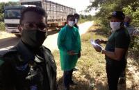 Ações conjuntas entre a 4ª CPM/7ºBPM e autoridades municipais de saúde intensificam o combate ao Covid-19 no Extremo-Sul