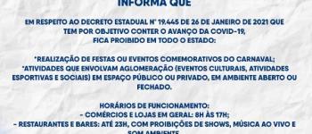Prefeitura de Gilbués reforça medidas de isolamento social decretadas pelo Governo do Estado